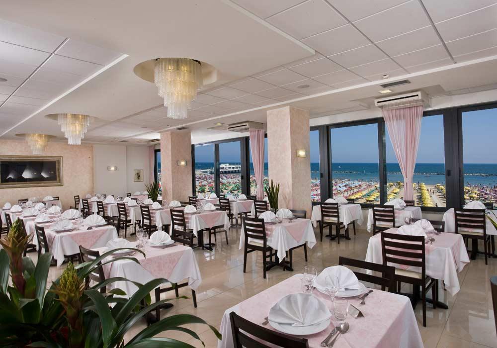 Hotel-Napoleon-Gabicce sala ristorante